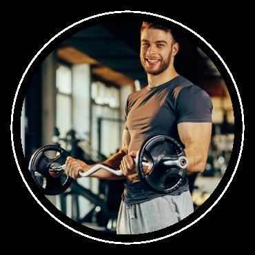Sport et musculation : les protéines contenues dans la spiruline de Montauban facilitent la prise de masse musculaire.
