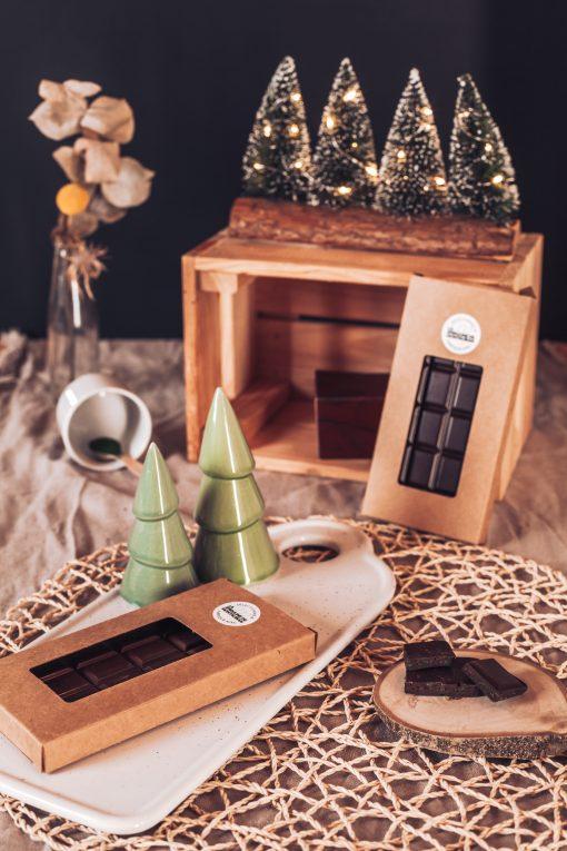 Tablette chocolat noir et Spiruline de Montauban